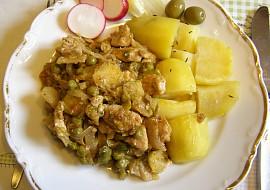 Směs krůtích prsou a zeleniny recept
