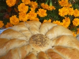 Chléb slunečnice recept