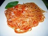 Shaterovo špagety s rajčaty recept
