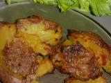 Pečené vařené brambory recept