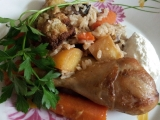 Arabské rizoto recept