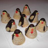 Vosí hnízda  tučňáci recept