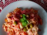 Těstoviny zapečené s květákem, řepou, tvarohem a klobásou recept ...