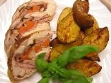 Kuřecí roláda s uzeným masem recept