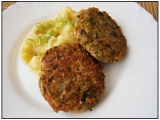 Vaječné řízky bylinkovo-zeleninové (placičky) recept