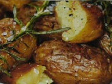 Pečené brambory od babičky