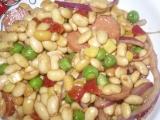 Sojový salát se zeleninou recept