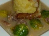 Hovězí na špeku a růžičkové kapustě recept