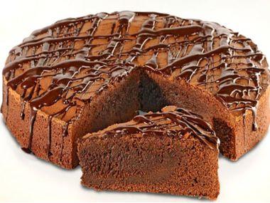 Čokoládový dortík Brownie