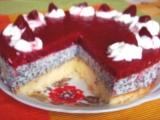 Tvarohový dort s mákem recept