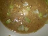 Nivovo-chlebová polévka s houbami recept