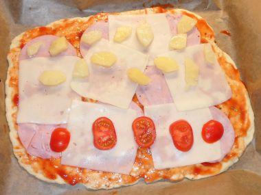 Pizza těsto snadné