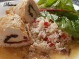 Krůtí roládky s mangoldem, bylinkami a netradiční rýží recept ...