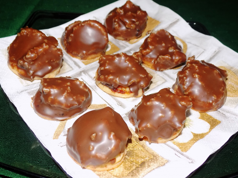 Ořechové kopečky recept