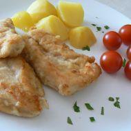 Kuřecí řízek v česnekovém dresinku recept