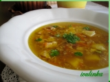Masozeleninová polévka recept