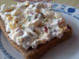 Tvarohová pomazánka s vejcem, ředkvičkou a cibulkou recept ...