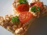 Vajíčková pomazánka s treskou alla losos recept