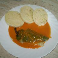 Plněné papriky s rajskou omáčkou recept