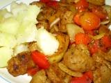 Rozházený sojový špíz  vegan recept