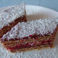 Medovo-čokoládové řezy recept