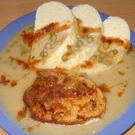 Vepřová pečeně s hráškovou omáčkou recept