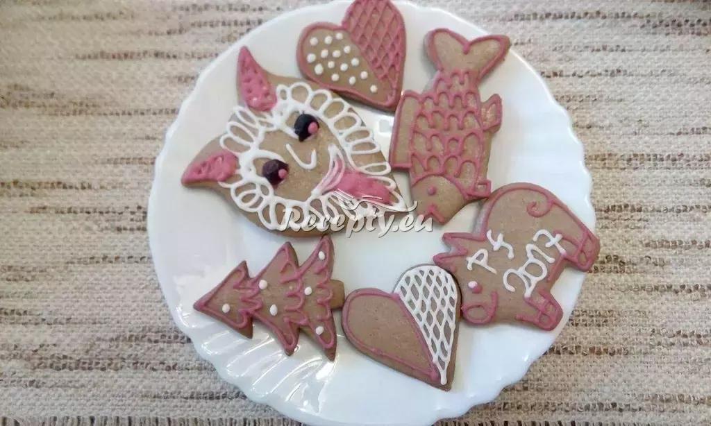 Medové perníčky recept  nejen vánoční cukroví