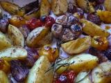 Brambory z trouby recept