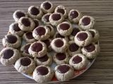 Celozrnné sušenky plněné džemem recept