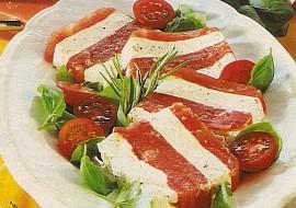 Rajčatové želé s mascarpone recept