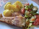 Kapr s dušenou zeleninou recept