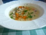 Uzená polévka s kroupama recept