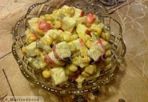 Ukrajinský krabí salát