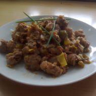 Sójové kostky se zeleninou recept