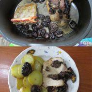 Vepřová pečeně se sušenými švestkami recept