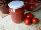 Rajčata ve vlastní šťávě 2 recept