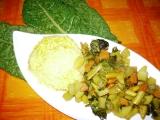 Zeleninové sabdží s mangoldem recept