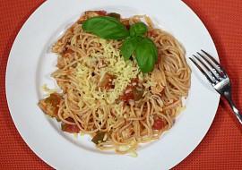 Špagety s dobrou náloží recept