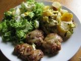 Masová dobrota se smetanovými brambory recept