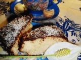 Jednoduchý hrnečkový kokosový moučník recept