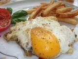 Rybí omeleta s Hermelínem recept