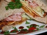 Listerův sendvič se smaženkou, chilli a čatní recept