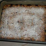 Ovocný koláč s drobenkou recept