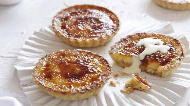 Karamelové smetanové koláčky