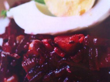 Salát z červené řepy 2