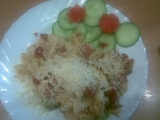 Farfale s brokolicí a sušenými rajčaty recept