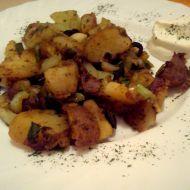 Pečené brambory s olivami recept