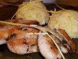 Kuřecí plátky na tymiánu a štouchačky s porkem recept ...