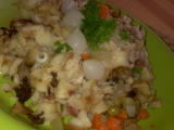 Hermelínovo-houbové flíčky s paprikovou klobásou recept ...