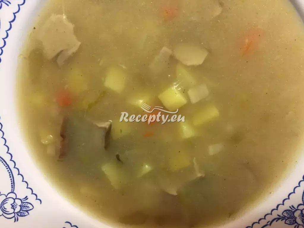 Bramboračka podle babičky recept  polévky